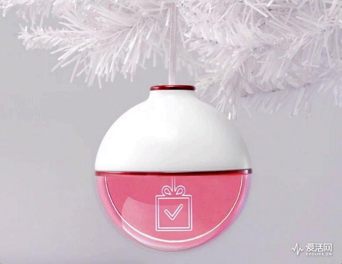 我的快递到哪里了?抬头看一下圣诞树上那个装饰灯就行-德州新博科技