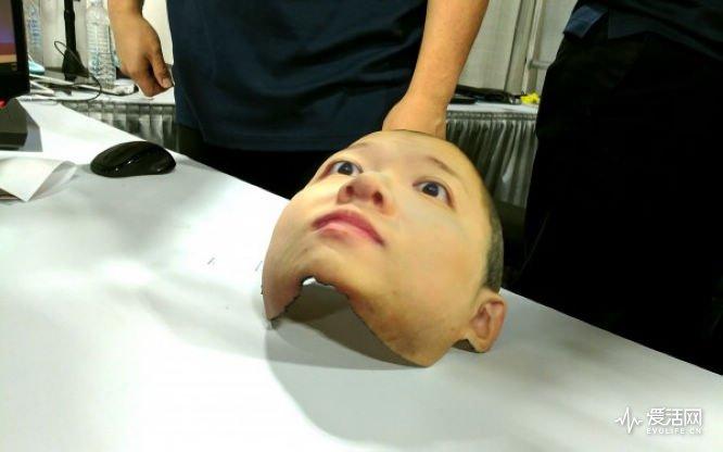 这个3D照相技术可以打印出人类同款脸 就问你怕不怕?!-德州新博科技