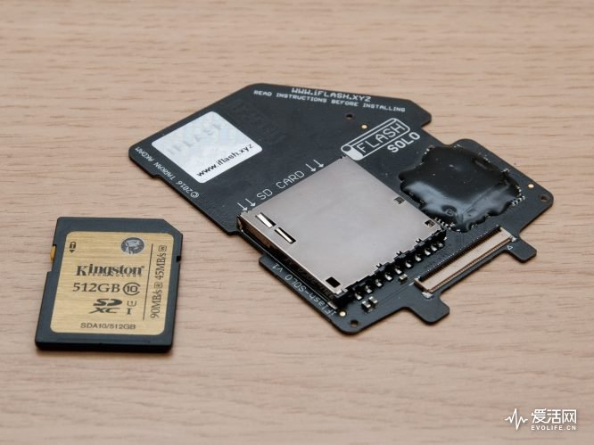 iFlash-Solo_Install_SD_card
